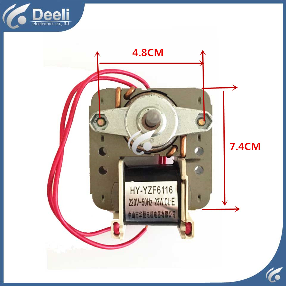 new Good working for refrigerator Fan motor for refrigerator freezer HY-YZF6116 100% new for good working high quality for refrigerator motor freezer motor kbl 48zwt05 1204