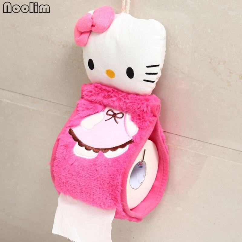 4pcs/set Hello Kitty Toilet Seat Cover 3
