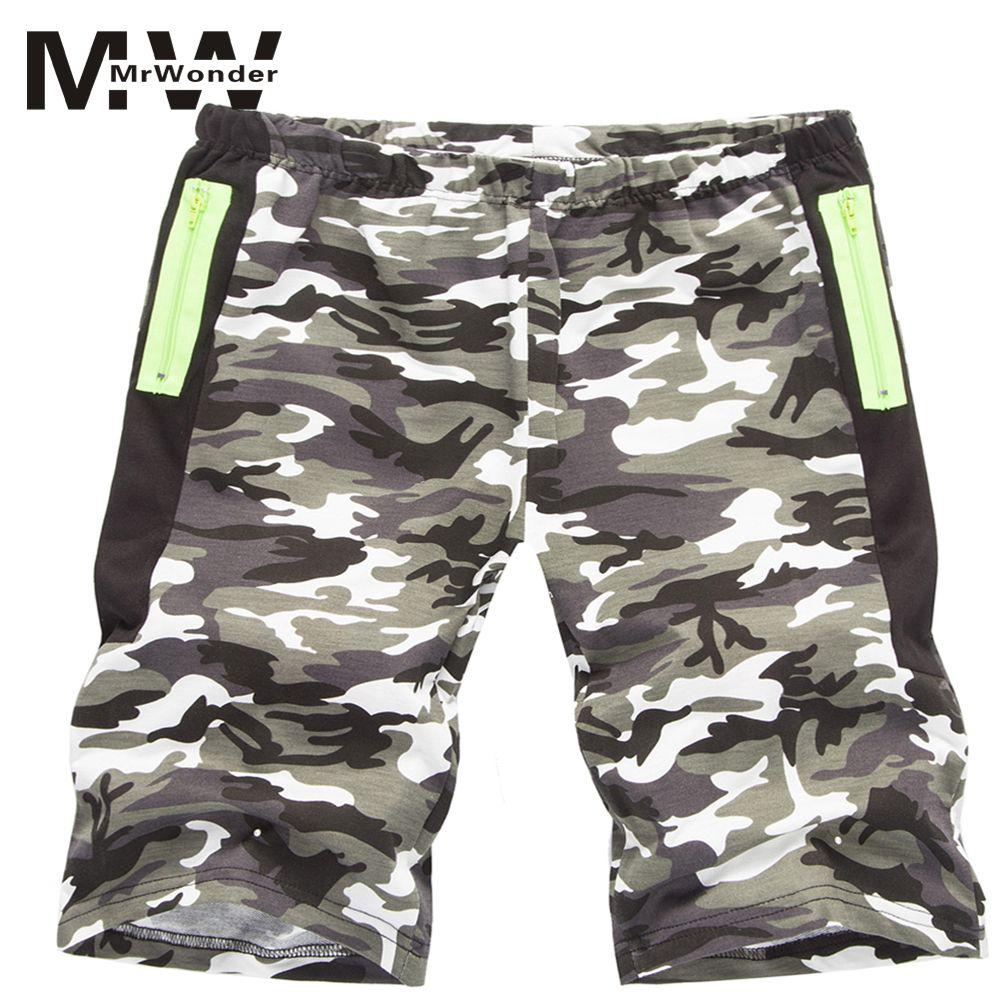 mrwonder Camouflage Camo Cargo Shorts 2018 New Mens Casual Shorts Male Loose Work Man Military Short Pants Plus Size  SAN0