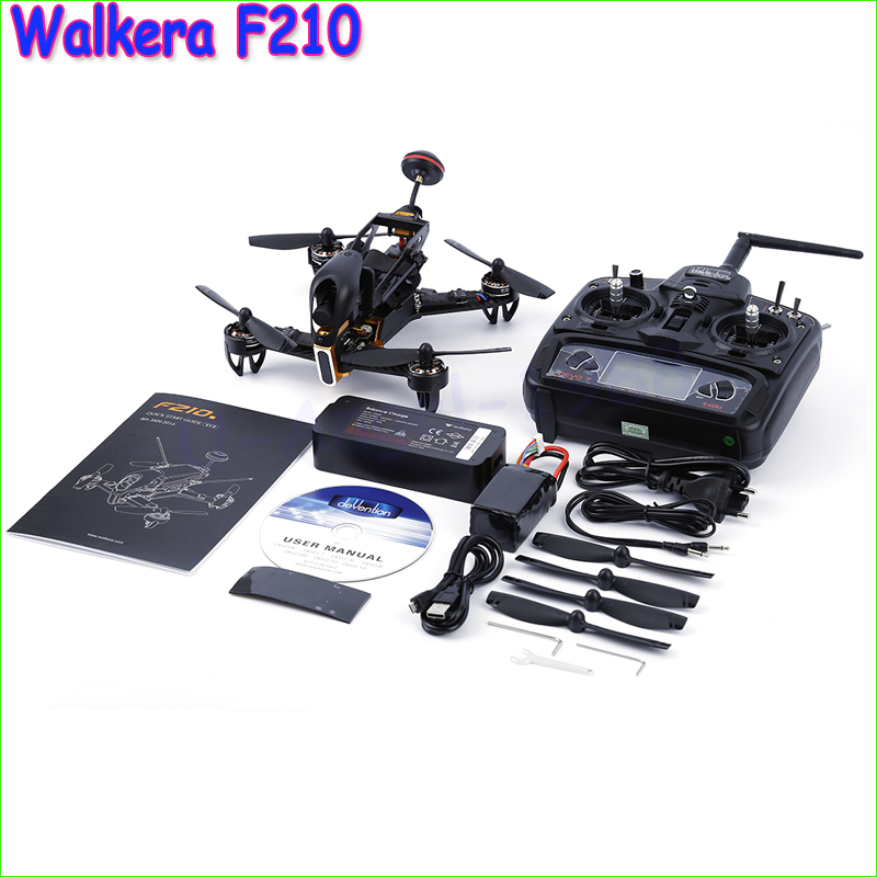 Original Walkera F210 2.4Ghz 7CH FPV Drone with Camera 700TVL DEVO7 RC Helicopter Quadcopter VS DJI Phantom 3 Dron Toy