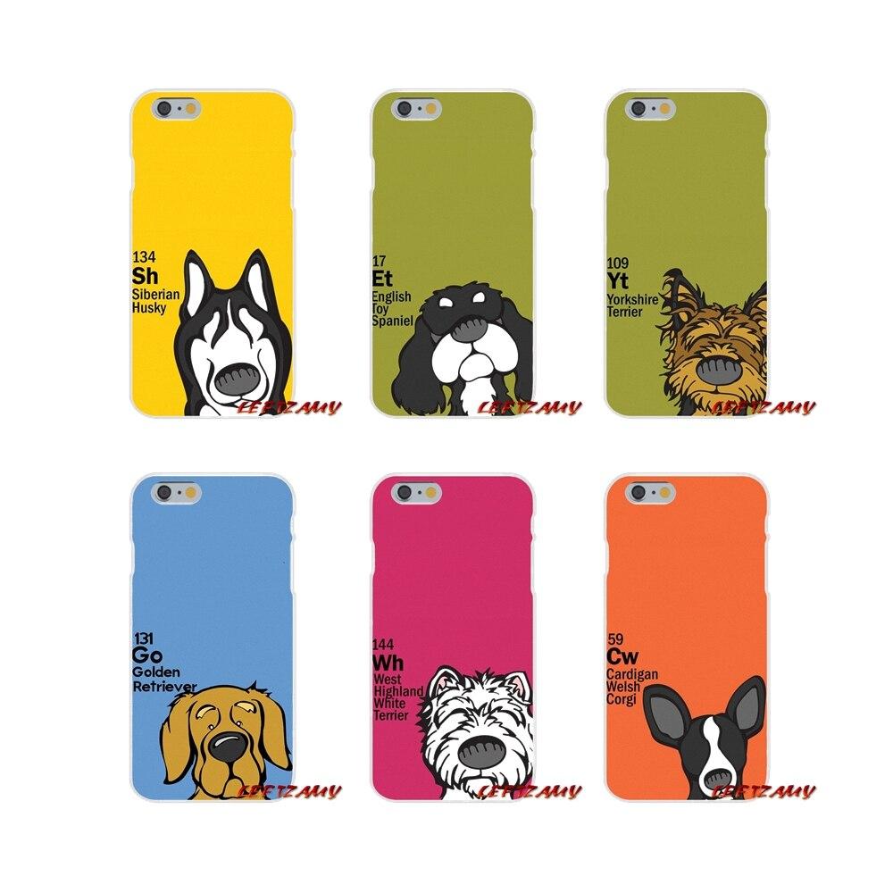 Accessoires Telefoon Shell Covers Periodieke Tafel Van Ele Menten Hond Voor Iphone X Xr Xs Max 4 4 S 5 5 S 5c Se 6 6 S 7 8 Plus Zorgvuldig Geselecteerde Materialen