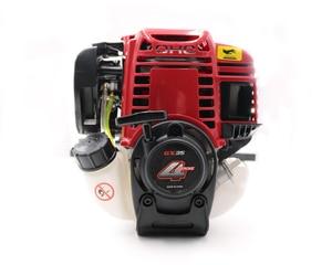 Image 5 - 9 في 1 جديد عالية الجودة فرشاة المقطع قاطع غاز مع GX35 4 السكتة الدماغية 35cc محرك بنزين شجرة القاطع آلة حرث مصغرة