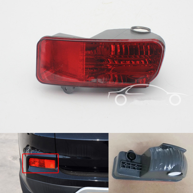 Car Styling Rear fog lamp bumper reflecter reflector light For CRV 2015 2016 Stop Brake Light 34550-TFC-H01/34500-TFC-H01 LH/RH