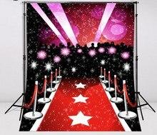 Paparazzi Hollywood Celebridade Do Tapete vermelho da foto fundo do estúdio Vinil pano de Alta qualidade de impressão Computador cenários de casamento