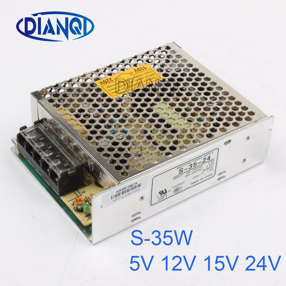 led power supply switch 25W 5V 5A ac dc converter 25W 5V variable dc voltage regulator quality assured S-25-5 pka2211pi 24v 5v 25w dc dc power supply module