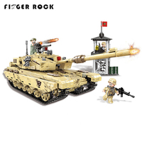 XINGBAO 06021 1340PCS Military Series The 99 Tank Set Building Blocks Bricks Tank Model Car Figures Toys As Children Gifts