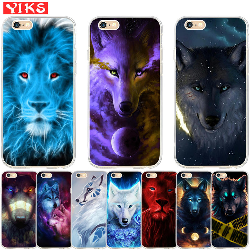coque iphone 8 wolf