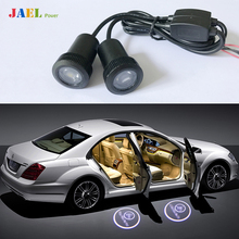 2PCs LED Car Ghost light Case For Ford Audi BMW Toyota Volkswagen Light courtesy led car laser projector Logo Ghost Shadow Light