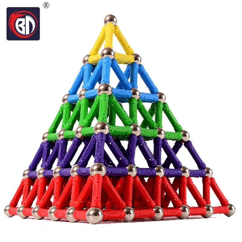 BD Bares Ímã Bolas De Metal Crianças Brinquedo de Construção Magnético Blocos de Construção de Brinquedos DIY Acessórios de Designer De Brinquedos Educativos Brinquedos Engraçados