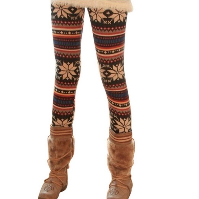 LASPERAL Hot Sale Women Winter Clothes Leggings 3D Floral Print Pattern Sexy Skinny Pants High Waist Fitness Leggins Free Size