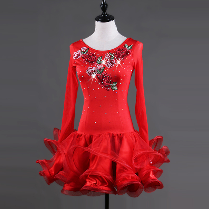 salsa latin dance wear tango samba latin dance dress women competition dress latin dance costume girls children women