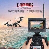 JXD 510G RC Quadcopter Drone Con 5.8G HD Reale Immagine di Trasmissione Modalità Fotocamera e Display A LED Senza Testa Aeromobili giocattoli