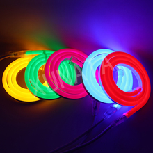 1-100m Outdoor&Indoor LED Lighting Flex LED Neon Light SMD 2835 120leds/M Waterproof IP68 LED Neon Strip Light Decoration DC 12V