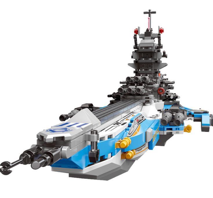 8 en 1 Star Wars série la voie lactée Battleship blocs de construction technique LASER pistolet briques jouets pour enfants