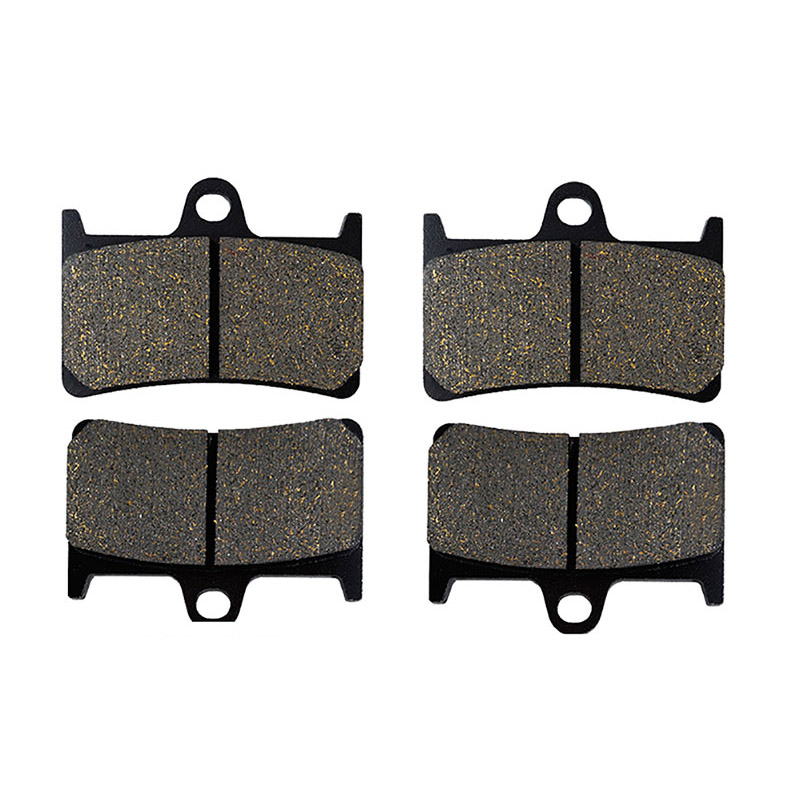 Motorcycle Parts Front Brake Pads Kit For YAMAHA YZFR1 YZF R1 1995-2003 FZS1000 FZS 1000 FZ1 Fazer 01-05 Metal & Brass Alloys mfs motor motorcycle part front rear brake discs rotor for yamaha yzf r6 2003 2004 2005 yzfr6 03 04 05 gold