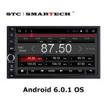 2 Din Car GPS Navigation Head Unit 7 inch TFT Android 6.0.1 Quad Core 1GB RAM 16GB ROM support Bluetooth 3G WIFI OBD DVR DAB+