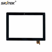 Srjtek 10.1″ For Lenovo MIIX 310-10ICR MIIX 310 10ICR Touch Screen with Frame Digitizer Sensor Glass Panel Replacement Parts