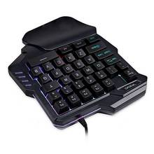 LED Backlight Wired Gaming Keypad