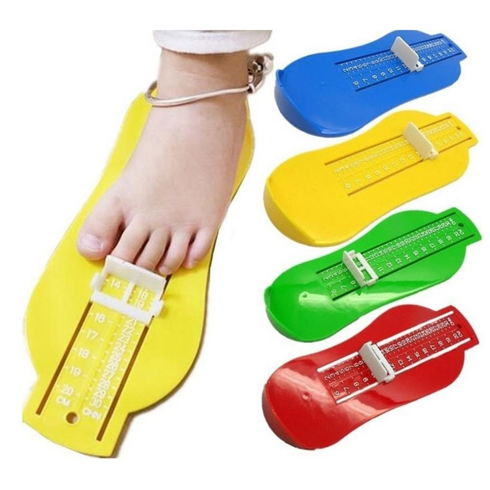 Toddler Baby Feet Measure Shoes Size Measuring Tool Infant Kids Shoe Fittings Gauge Children Foot Ruler