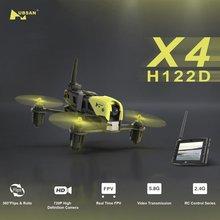 Hubsan H122D X4 Tempestade 720 p HD Da Câmera com Monitor de 5.8g FPV Goggle HV002 HS001 Corridas de RC FPV Zangão RTF Quadcopter 3D Aleta