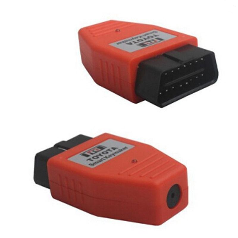 For Toyota Smart Key maker 4D chip Smart Keymaker OBD2 Eobd Key Programmer (Red Color)