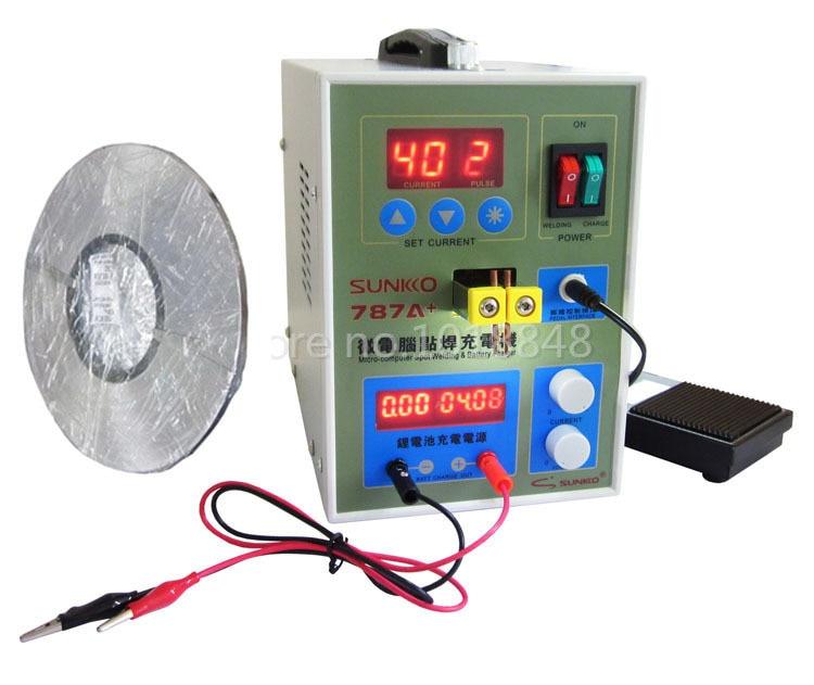 220v 787A Spot Welder Battery Welder For Notebook and Phone Battery Precision Welding 1roll 0 1