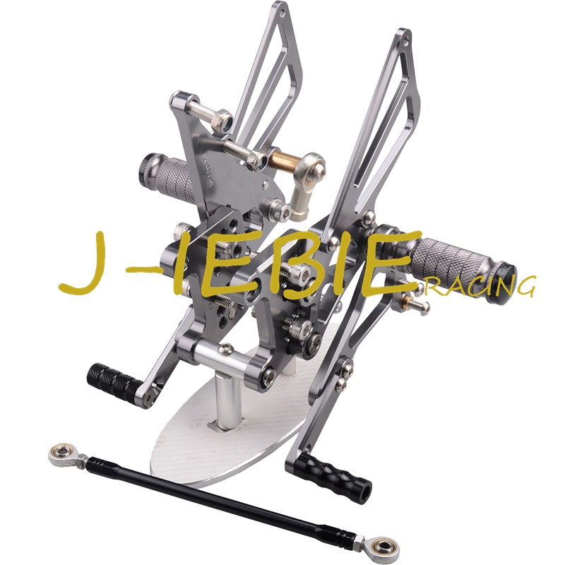 CNC Racing Rearset Adjustable Rear Sets Foot pegs Fit For Triumph T595 T509 955i SPEED TRIPLE 1050 TITAINUM cnc racing rearset adjustable rear sets foot pegs fit for ducati streetfighter 848 1098