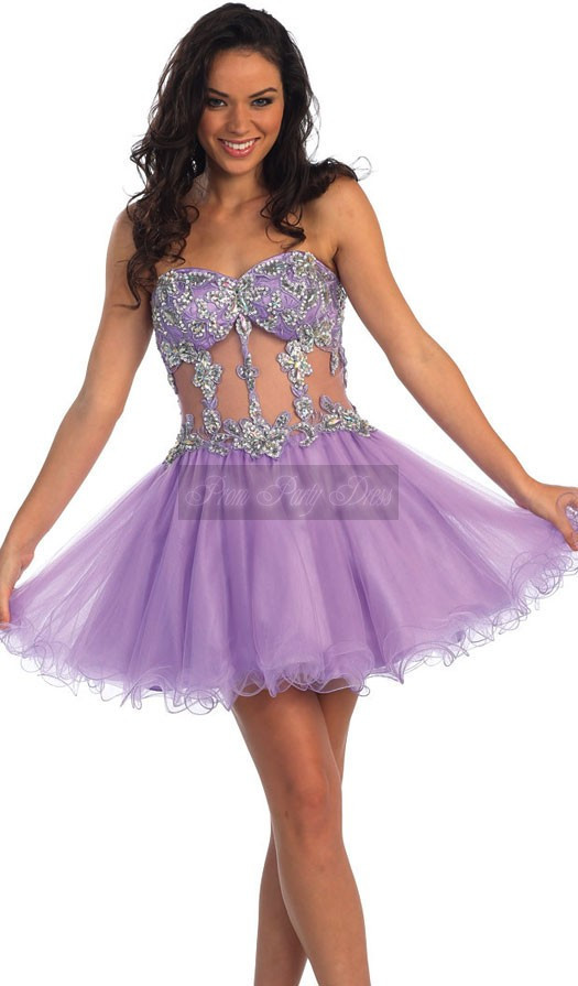 Online Buy Wholesale purple dresses for teens from China purple ...
