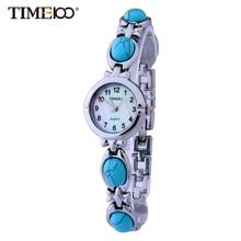 TIME100 Femmes Montres Quartz Analogique Shell Cadran crochet boucle Or Alliage Dames Bracelet montres Pour Femmes relogio feminino