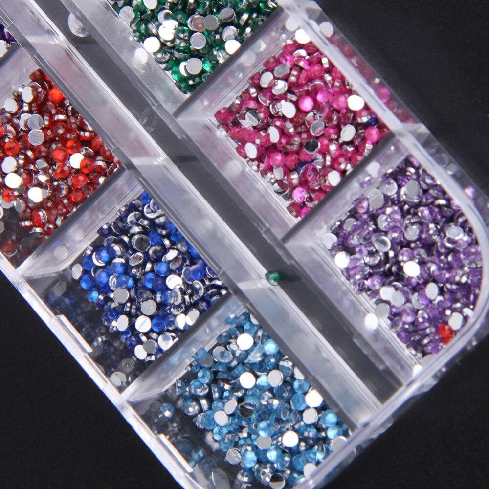 Aliexpress.com : Buy Colorful Nail Art Decorations DIY Fingernail ...