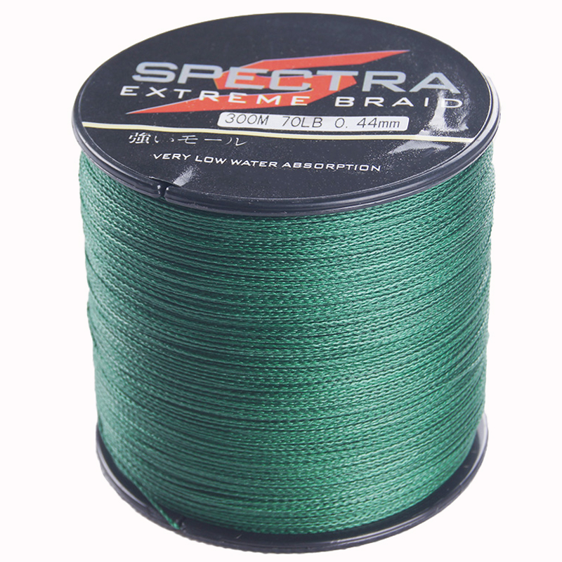 DORISEA 4 Strands 300M 330Yards Multifilament PE <font><b>Braided</b></font> <font><b>Fishing</b></font> <font><b>Line</b></font> <font><b>6lb</b></font> 8lb 10lb 15lb 20lb 30lb 40lb 50lb 60lb 70lb 80lb 100lb image