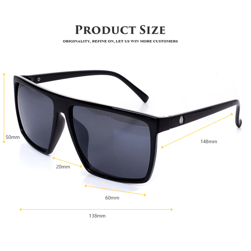 461f1929a2d Vintage Steampunk Square Sunglasses Men SKULL Logo All Black Coating Sun  Glasses Women Brand Designer Retro gafas de sol-in Sunglasses from Apparel  ...