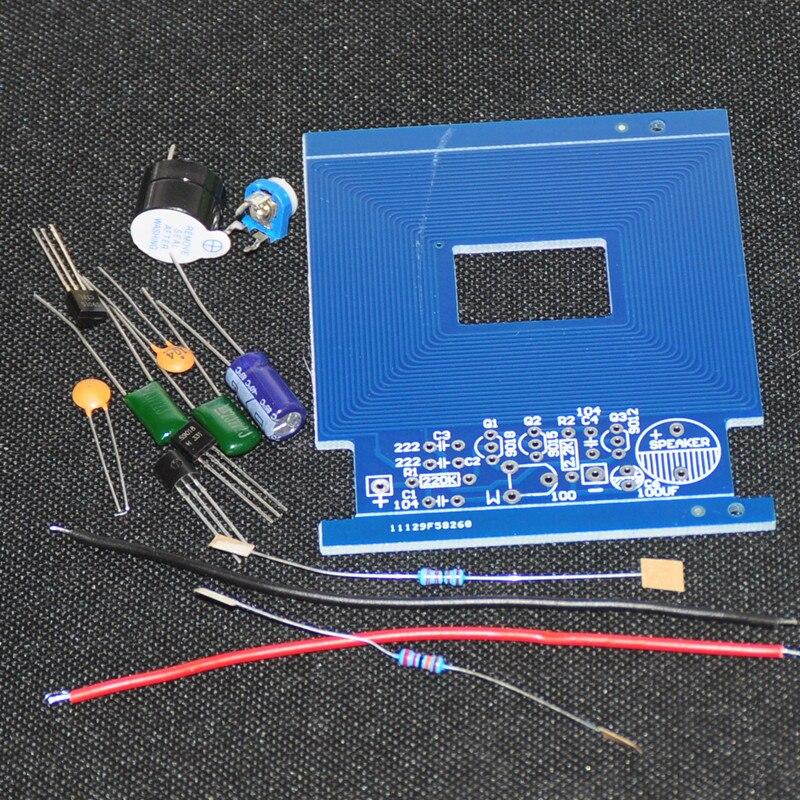 10sets Metal Detector Scanner Finder Sensor Electronics Kit 3-5V DIY Kit Suite Trousse Boards Module Integrated Circuits Hunter