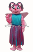 Abby Mascot Costume Sesame Street Abby Mascot Costume Elmo Free Shipping