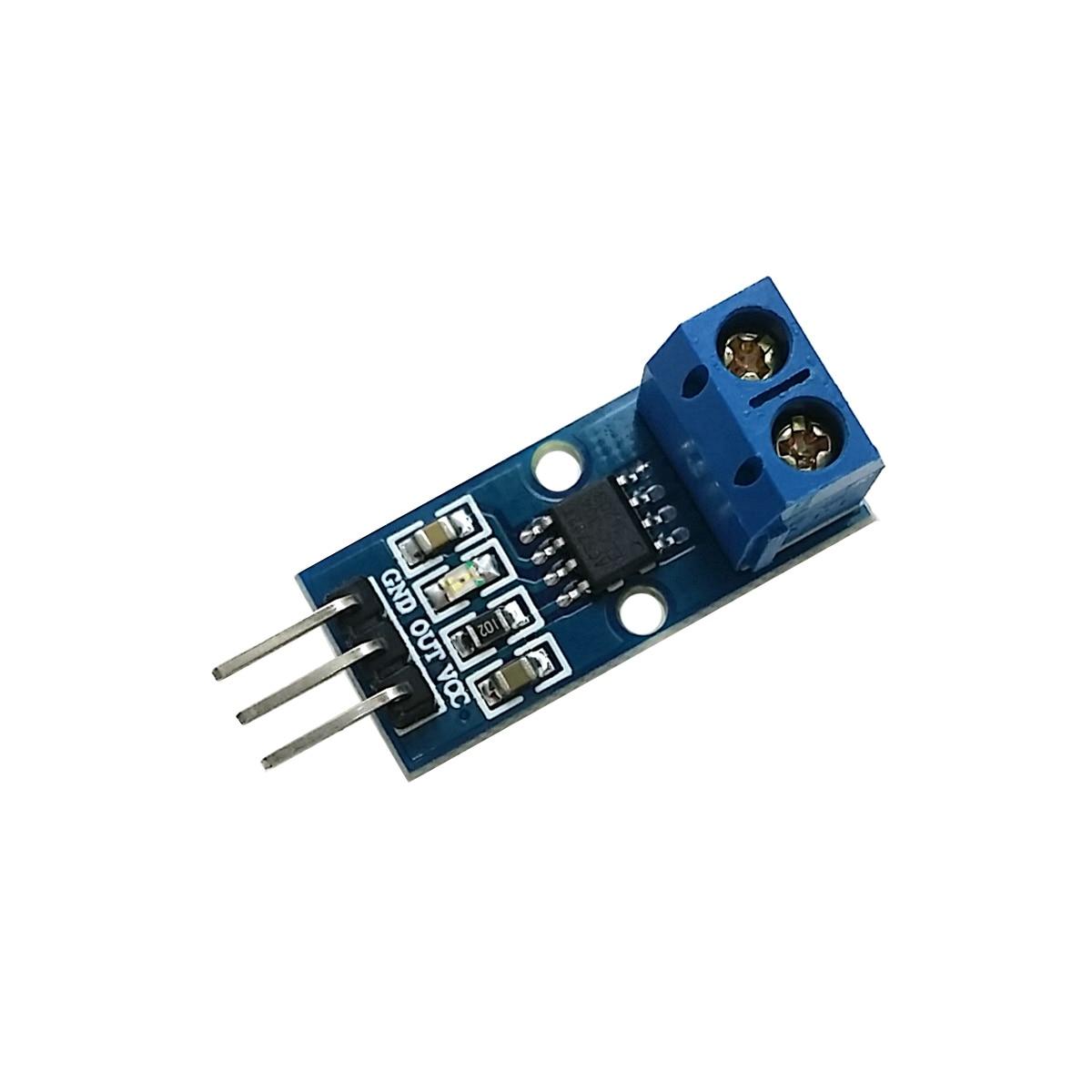 2Pcs ACS712ELCTR-30A-T Current 30A Bi 5V Sensor SOP8 Ic New ik