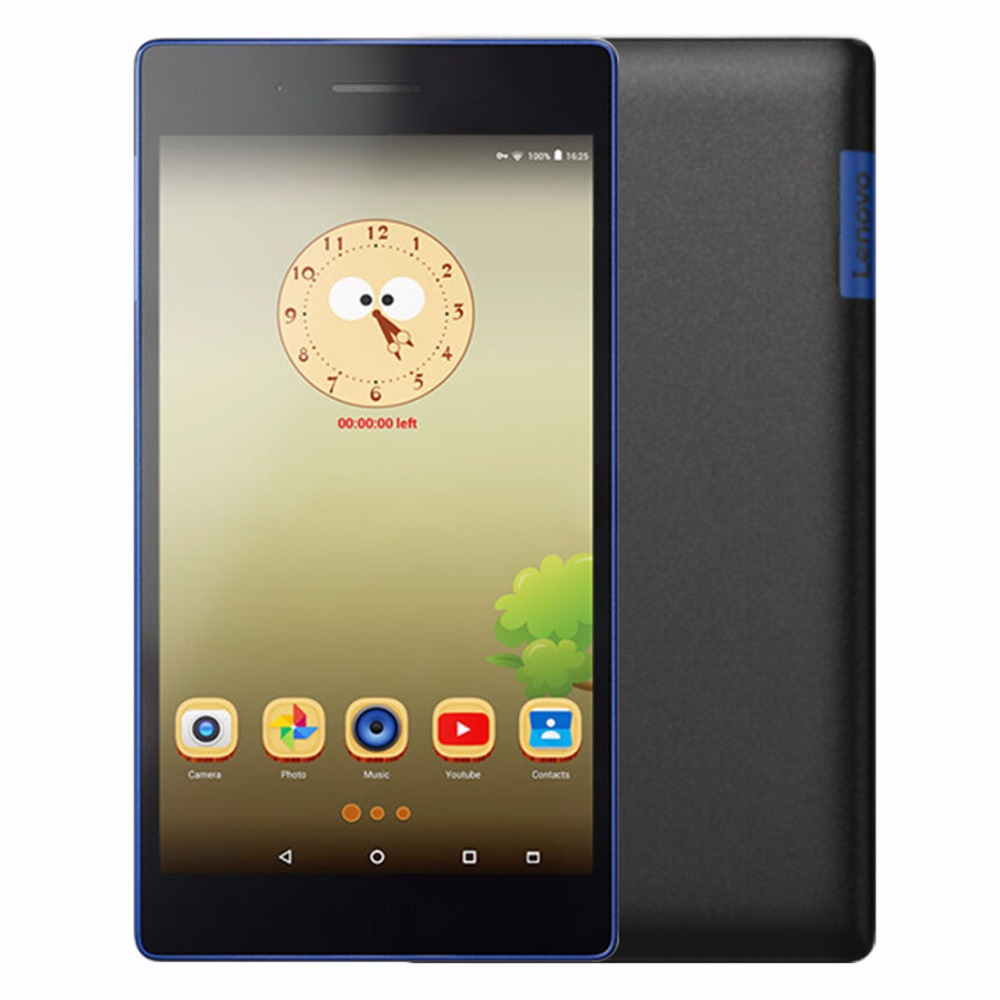 Original Lenovo Tab3 730M 7.0 inch Android 6 MTK8735P Quad Core 4G Phone Call Tablet PC 1GB 16GB 5MP 3450mAh