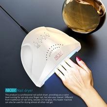 Abody 48 W Светодиодный УФ-лампы для ногтей сушилка для всех гелем белый свет нагревательный аппарат росписи ногтей Salon Инструменты