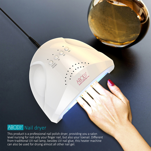 Abody 48W LED UV Lamp UV LED Lamp Nail Polish Dryer LED Nail Lamp  White Light Heater Machine Nail Art Painting Salon Tools