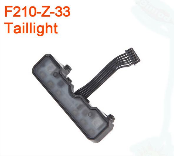 Walkera F210 RC Helicopter Quadcopter spare parts F210-Z-33 Taillight walkera f210 rc helicopter quadcopter spare parts f210 z 05 bottom plate a soleplate a