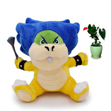 Anime Super Mario Bros Koopalings Ludwig Kooky Peluche Doll Plush Soft Stuffed Baby Toy Great Christmas Gift For Children