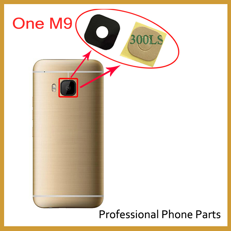 Original Rear Camera Glass For HTC One M9 / One M8 / One M7 Back Camera Glass Lens With Adhensive Sticker Replacement Parts