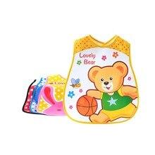 Bibs & Burp Cloths Cartoon Adjustable Baby Waterproof Newborn Feeding Apron Silicone EVA Accessories