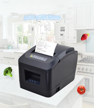 цена Factory outlets pos printer High quality 80mm thermal receipt printer XP-200II automatic cutting USB+Serial port /Ethernet ports онлайн в 2017 году