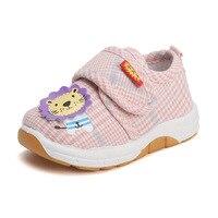 2019 новая детская повседневная обувь, милая парусиновая повседневная обувь для маленьких девочек 0-1-2 лет, Детские обувь для мальчиков, тенни...