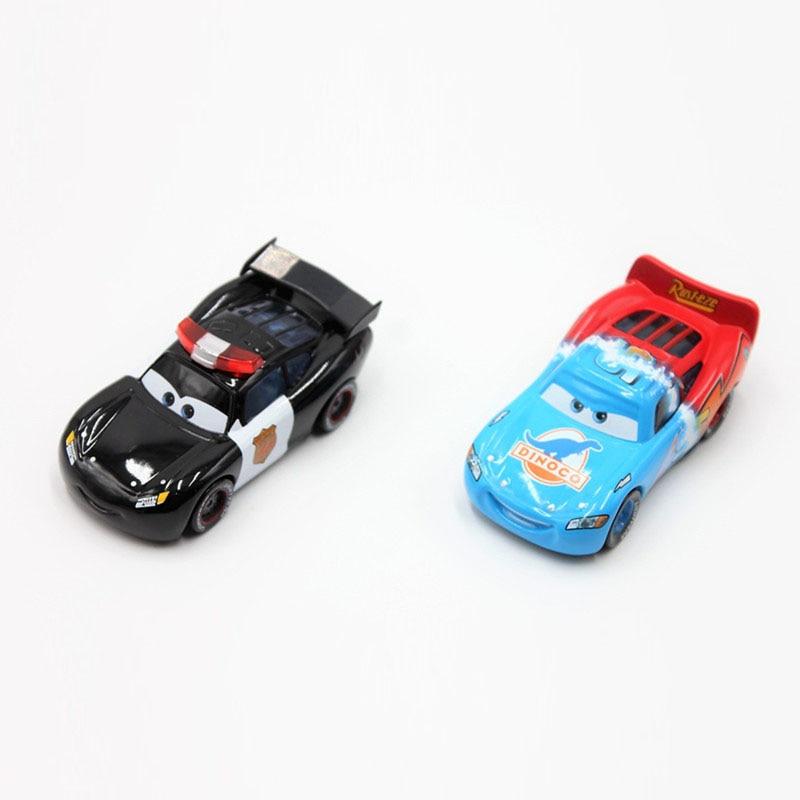 Disney Pixar Cars 2pcs/Lot Lightning Mcqueen 1:55 Scale Diecast Metal Alloy Modle Brio C ...