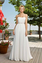 9048 custom White Ivory Crystal Beads Wedding Dresses for brides maxi formal plus size 2 4