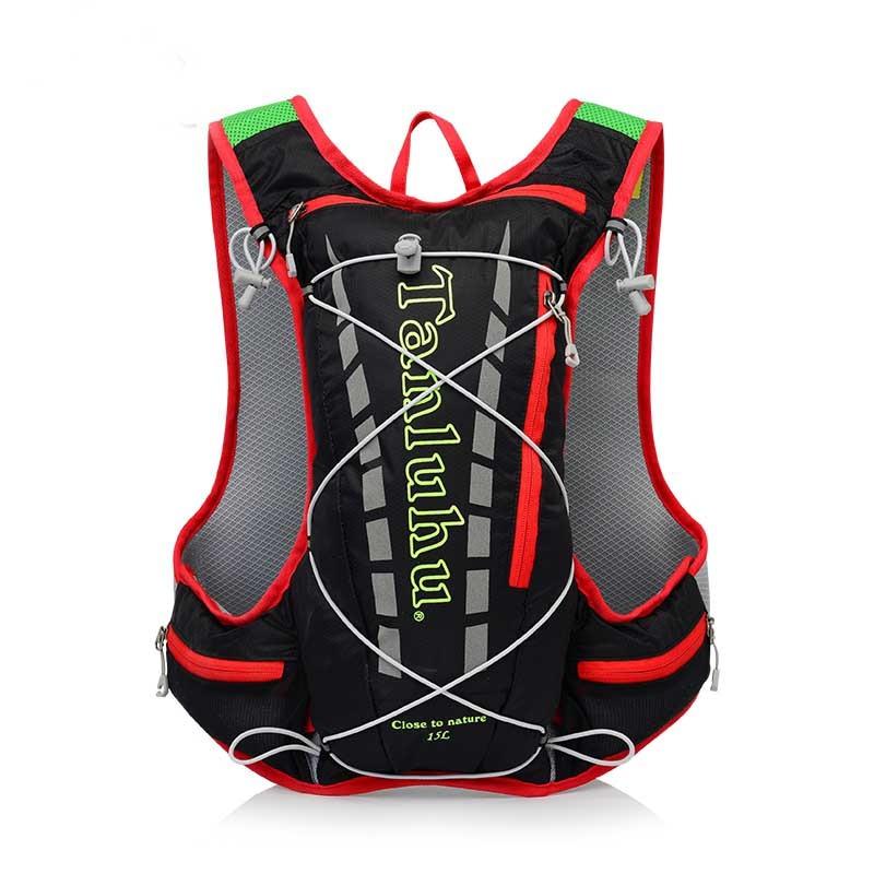 Sport Del Trasporto Zaino Blue In black Ciclismo 15l Idratazione Esecuzione Di red Sacchetto All'aperto Libero xHUtqUR
