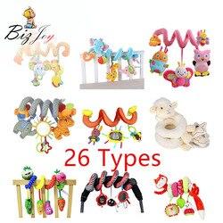 26 Tipos de Bebê Cama Carro Pendurado Gira Em Brinquedos Chocalho Carrinho de bebê Pendurado Brinquedos Educacionais Do Bebê Chocalho De Pelúcia Bicho de pelúcia Brinquedos Macios