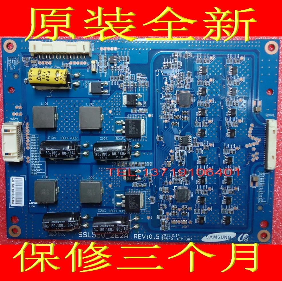 FOR Samsung backlight boost board SSL550_2E2A REV: 0.5 Constant current board is used ssl460 3e1b rev 0 1 constant current board compatible
