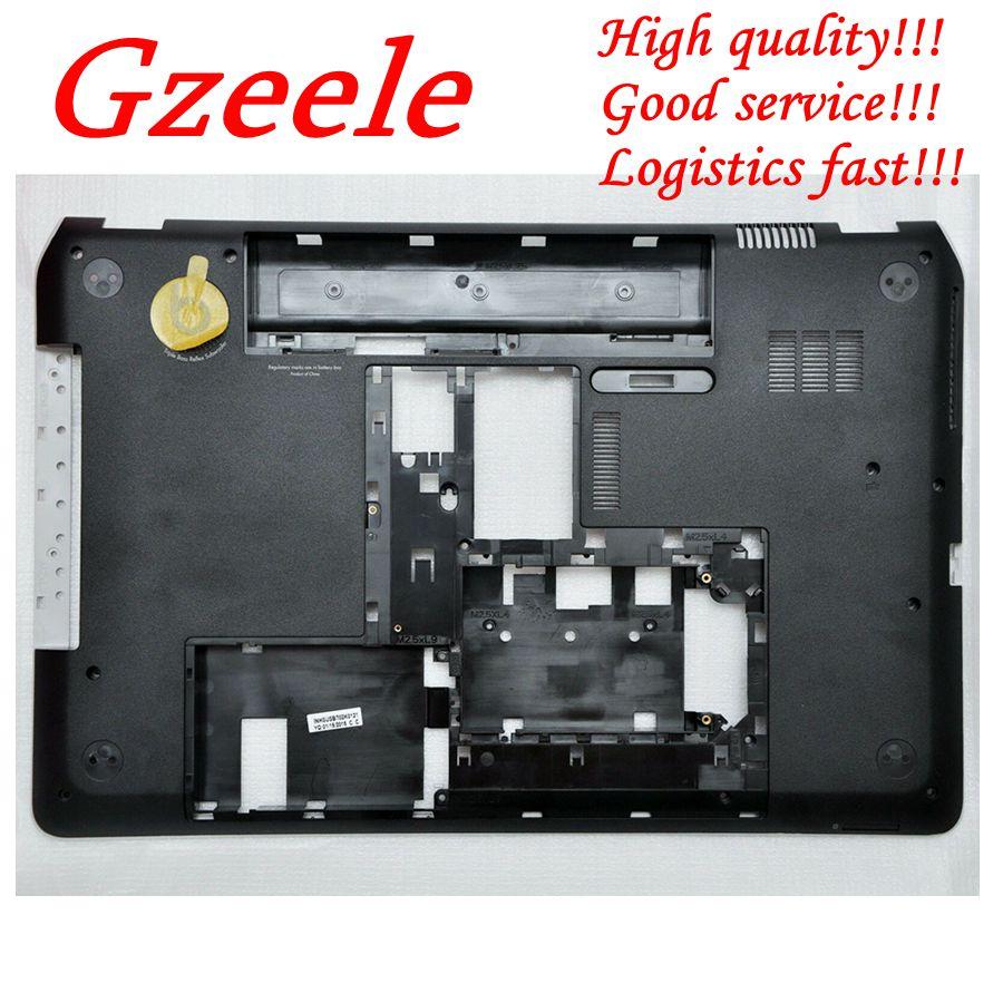 GZEELE б/у Нижняя база нижняя крышка корпуса для hp Envy DV7 Pavilion DV7 7000 серия Нижняя база корпус 707999 001 681970 001